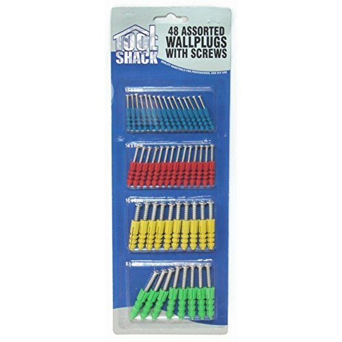 96-assorted-wall-plugs-with-screws-2-packs-of-48
