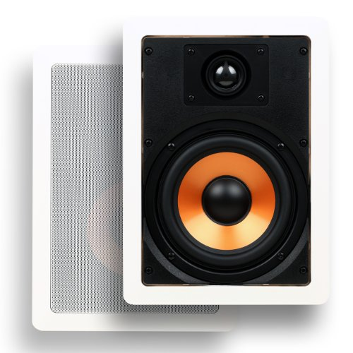 micca-m-6s-65-inch-2-way-in-wall-speaker-with-pivoting-1-silk-dome-tweeter-each-white