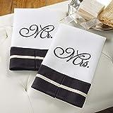 I Do Mr & Mrs Set Of 2 Linen Towels - Perfect Wedding Gift