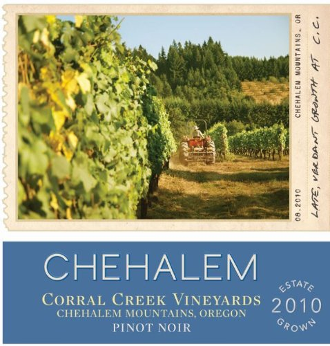 2010 Chehalem Corral Creek Vineyards Pinot Noir, Chehalem Mountains 750Ml