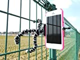 ican®iphone用三脚ホルダー iphone6/6/6s/c サムスンSONYアップルなど幅広いスマートフォンに対応 アイフォン5 デジカメスタンド クネクネ三脚