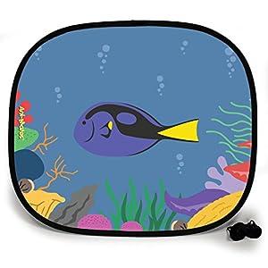123t ANI-MATES UNDER THE SEA REGAL TANG FISH DESIGN PLAIN Sunshade x 1
