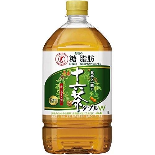 [トクホ] アサヒ飲料 食事と一緒に十六茶W(ダブル) 1L×12本