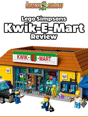 LEGO Simpsons Kwik-E-Mart Review (71016)
