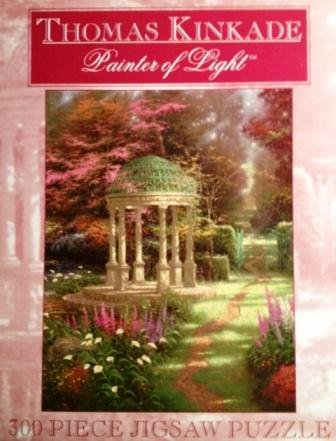 Thomas Kinkade 300pc. Puzzle-The Garden of Prayer