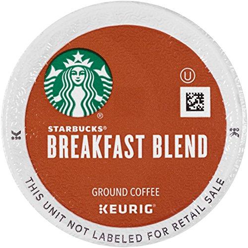 Starbucks Breakfast Blend, K-Cup for Keurig Brewers, 60 Count