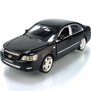 Brand New Hyundai Sonata 1:32 Alloy Diecast Model Car with Sound & Light Toy Black B405