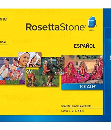 Rosetta Stone Spanish (Latin America) Level 1-5 Set for Mac  [Download]