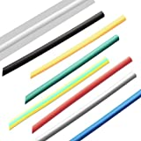 1M 4.0ミリメートル7色2:1ポリオレフィン熱収縮チューブチューブスリーブラップ(ランダム:カラー)