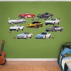 Fathead Corvette Generations Collection Real Decals