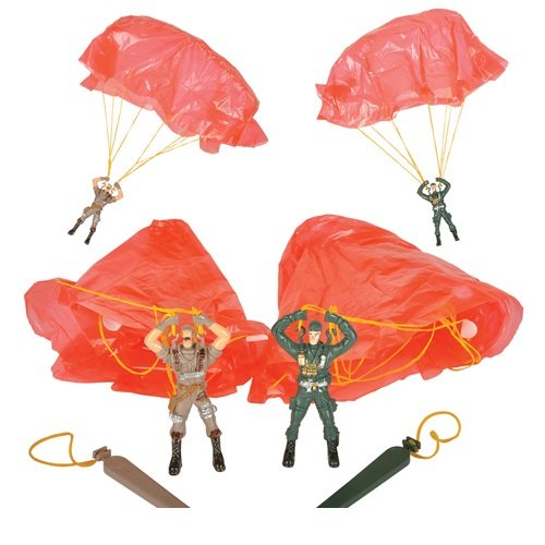 3.5 Inch Soldier Paratrooper (Package of 12) (Army Paratrooper Figure compare prices)
