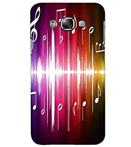 SAMSUNG GALAXY E7 MUSIC Back Cover by PRINTSWAG