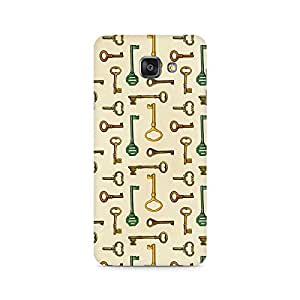 High Quality Printed Cover Case for SAMSUNG A510 2016 Model - Skeleton Key