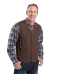Woolrich Men\'s Utility Vest SL, BUCKSKIN (Brown), Size L
