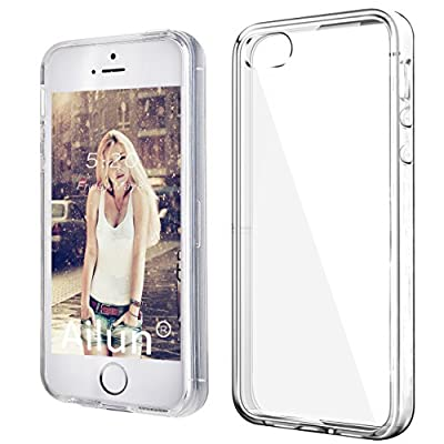 iPhone 5S case,by Ailun Shock-Absorption Bumper TPU Clear cover iphone 5s case[Crystal Clear] by Siania