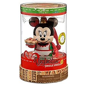 "Christmas Jingle Smells Minnie Mouse Pie Disney Vinylmation 3"" inch Figure"