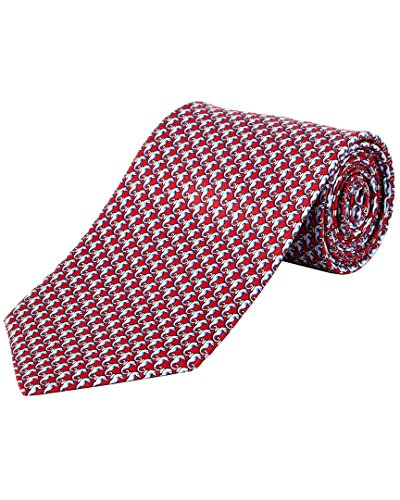 Brooks Brothers Mens Red Seahorse Silk Tie (Ties For Men Brooks Brothers compare prices)