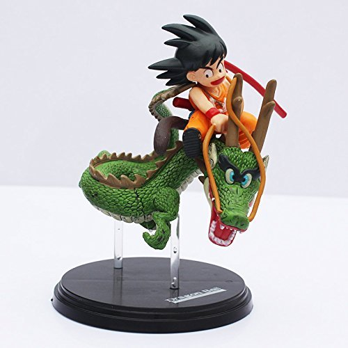 Dragon Ball Z Super Saiyan Goku with Dragon Riding PVC Action Figures Collection Model Toy Doll