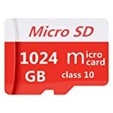 TRYEDS 1TB Micro Memory Card 1024GB Micro SD Card Class 10 with Free SD Adapter