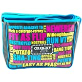 Retro Genuine Keith Lemon Celebrity Juice 'Slogan' ITV2 TV Satchel Bag School Messenger Bag