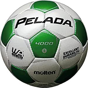 molten(モルテン) ペレーダ4000 [ Pelada4000 ] EXCELLENT DURABILITY F5P4000-WG 白+緑 5号球