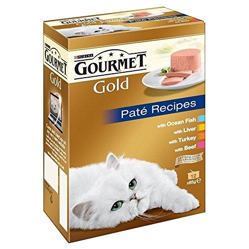 Gourmet Gold Pâté Recipes (12X85G)