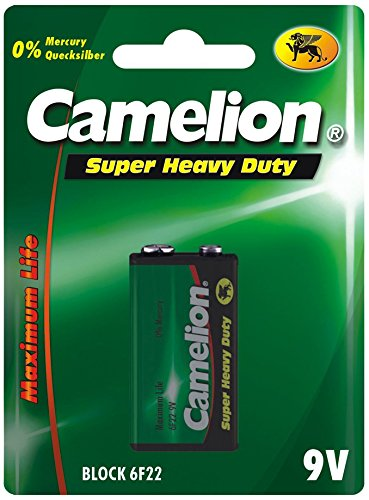Camelion 10000420 Super heavy duty Batterien R20/ Mono/ 4er Pack