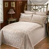 Portofino Matelasse Bedspread Size: Queen, Color: Sand