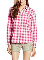 Stockerpoint Blusa (Fucsia / Blanco)