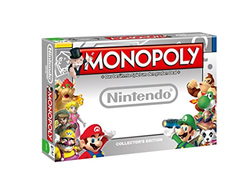 Winning Moves 43454 – Monopoly – Nintendo Brettspiel