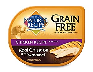 Nature's Recipe Grain Free Chicken Recipe In Broth Wet Dog Food (24 Pack), 2.75 oz