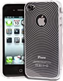 Kolay Gel Silicone Protective Armour Case Cover/Screen Protector for Apple iPhone 4/4S - Clear