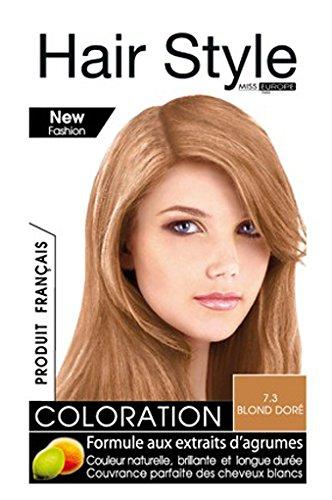 coloration cheveux hair style de miss europe 73 blond dore - Coloration Blond Dor