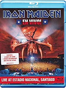 Iron Maiden: En Vivo! Live at Estadio Nacional, Santiago [Blu-ray]