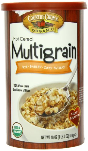 Nature's Path Organic Multi Grain Hot Cereal, 18 Ounce Canisters (Pack of 6) (Quaker Multigrain Hot Cereal compare prices)