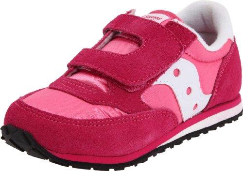 Saucony Kid'S Jazz H&L Fashion Sneaker (Toddler/Little Kid), Hot Pink/White, 7.5 M Us Toddler