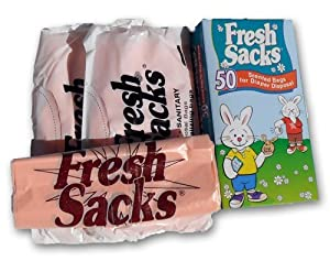 Fresh Sacks Biodegradable Diaper Disposal Bags, 50 ct by Bryce Foster