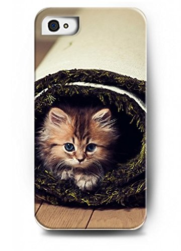 Ouo Stylish Series Case For Iphone 4 4S 4G With The Design Of Cute Cat