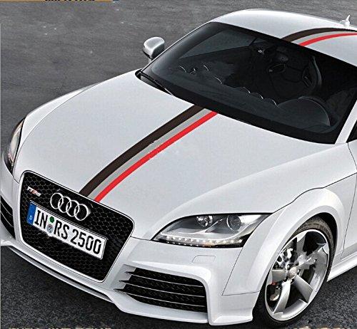 Price Tracking For 50 Audi Sports Racing Stripe Vinyl Car