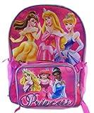 "Girls 16"" Princesses Utility School Backpack - Pink"