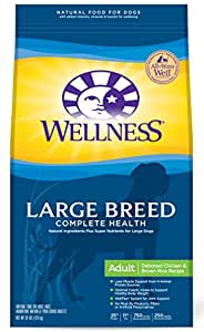 Wellness Complete Health Large Breed Chicken Amp Rice