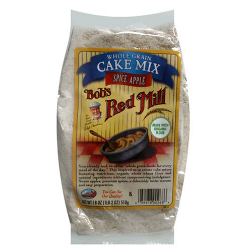 Buy Bob's Red Mill Cake Mix, Spice Apple, 18-Ounce Bags (Pack of 8) (Bob's Red Mill, Health & Personal Care, Products, Food & Snacks, Baking Supplies, Baking Mixes, Cake Mixes)