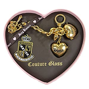 Juicy Couture Heart Charm Bracelet Gold Charm