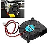 UEETEK 3D Printer Cooling Fan DC 12V for Cooler Heatsinks Black