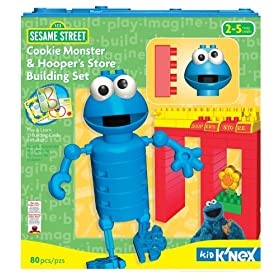 Sesame Street Cookie Monster & Hooper's Store Building Set
