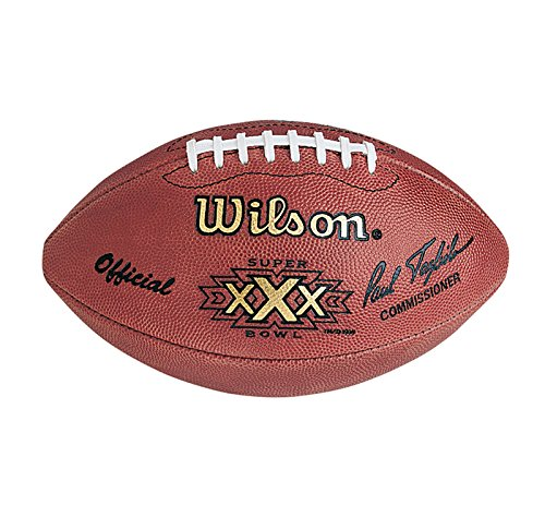 Authentic Wilson Official Super Bowl XXX Full Size NFL Football