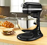 KitchenAid KV25GOXOB Professional 5 Plus 5-Quart Stand Mixer, Onyx Black