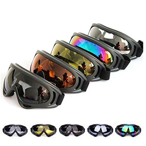 X400 UV Tactical Bike Goggles Ski Skiing Skating Glasses Sun