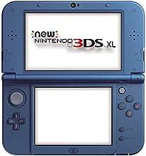 Nintendo Handheld Console 3Ds XL - New Nintendo 3Ds XL Metallic - Blue [Importación Inglesa]