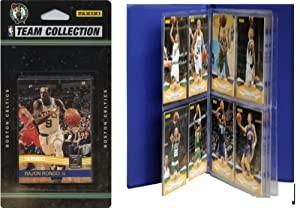 NBA Boston Celtics Licensed 2010-11 Donruss Team Set Plus Storage Album by C&I Collectables
